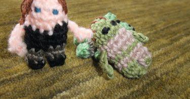 mini daryl do the walking dead em crochê Mini Daryl do The Walking Dead em Crochê Mini Daryl The Walking Dead 375x195