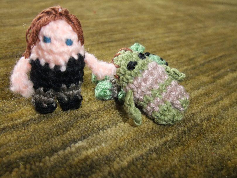 mini daryl do the walking dead em crochê Mini Daryl do The Walking Dead em Crochê Mini Daryl The Walking Dead 810x608