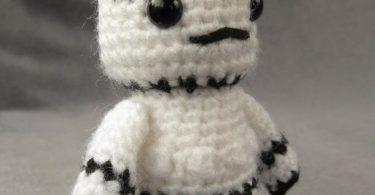 stormtrooper - starwars mini amigurumi crochê Stormtrooper – StarWars Mini Amigurumi Crochê Stormtrooper Star War Mini Amigurumi Crochet 375x195