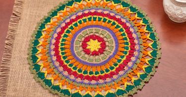 porta copo mandala  feito em crochê Como Fazer um Porta Copos Mandala em Crochê oie iOriIRvpIIPI 375x195