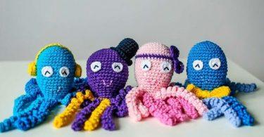 como fazer polvo de crochê Como fazer polvo de crochê polvo croche 6 375x195